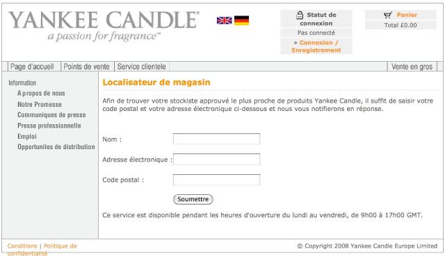 comment devenir revendeur yankee candle