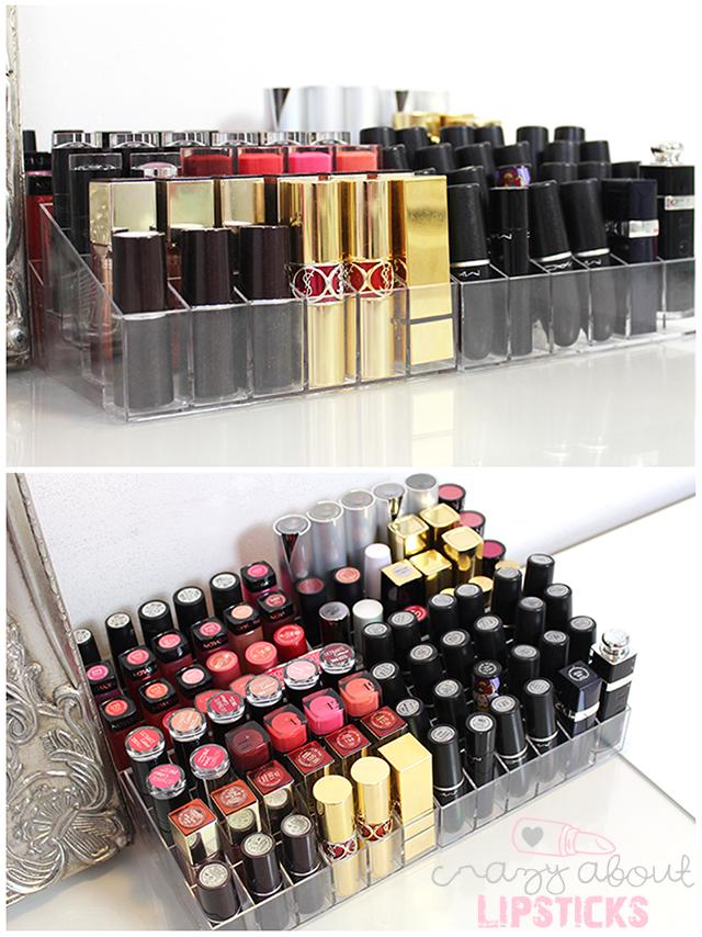amazing rangement rouge a levre #10: rangement pour lipgloss/encre