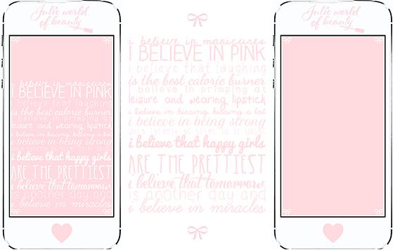 Fond d'Ecran iphone Believe