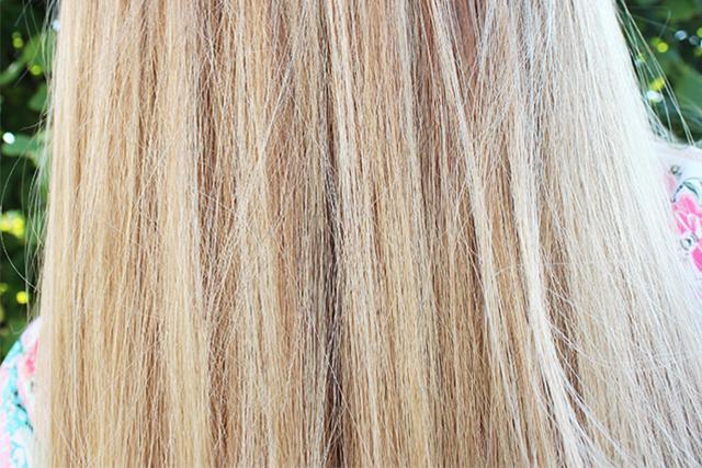 Couleur blonde abime les cheveux