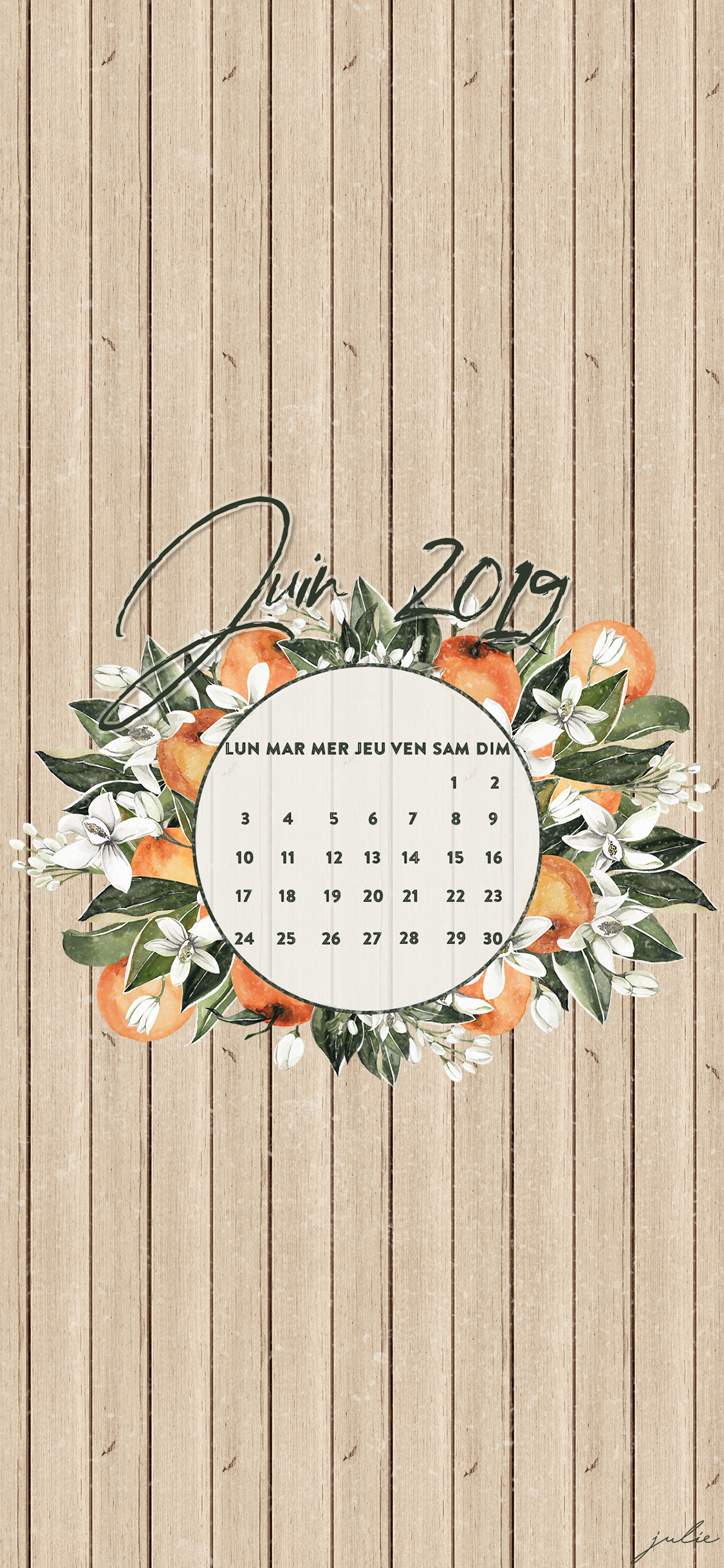Juin 2019 Julie